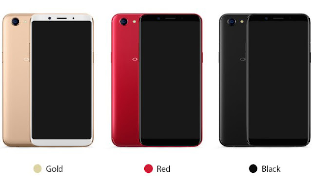 Tampilan OPPO F7 Diluncurkan dengan Membawa Kamera Selfie 25MP  FHD + Display 6,23 inci 6