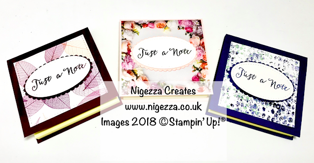 Craft Fair Idea: Covered Post It Note Pad Nigezza Creates