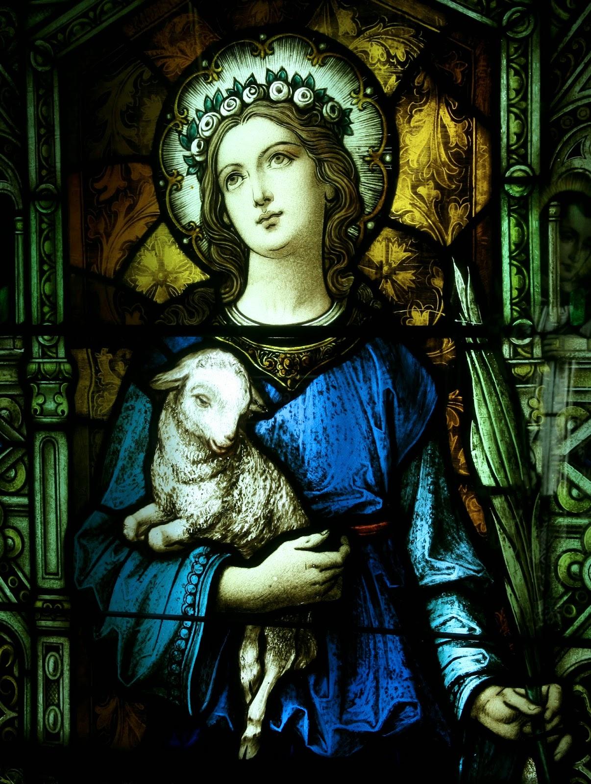 A Catholic Life: St. Agnes
