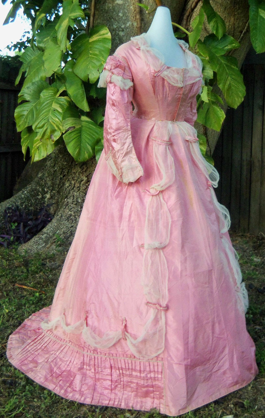 All The Pretty Dresses Late 1860 S Fabulous Pink Gown