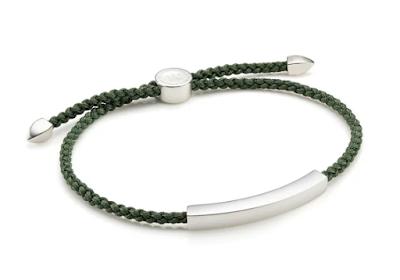 Gareth Southgate - Monica Vinader Linear Friendship Bracelet