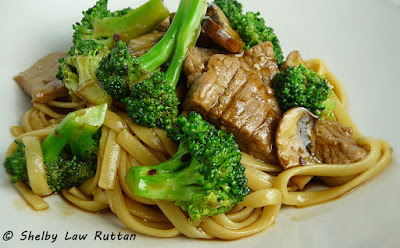Beef & Broccoli with Black Bean Mushroom Sauce