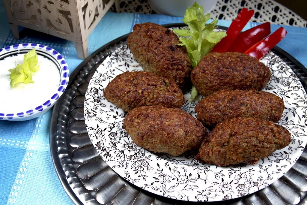 Kibbeh, potrawy z miesa mielonego