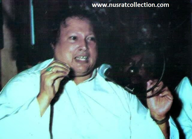 Lyrics Dil Pe Chot Lagti Hai Unke Muskurane Se by Nusrat Fateh Ali Khan