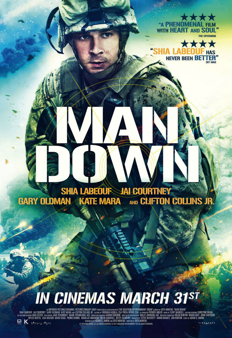 man down uk poster
