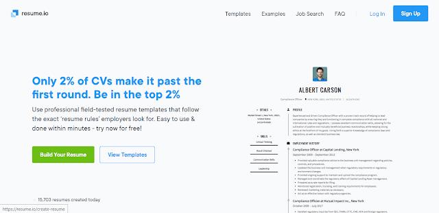 Cara Membuat CV Online dengan Resume.io