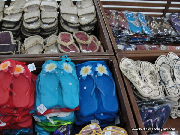 flip-flops for sale in Bali