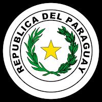 Logo Gambar Lambang Simbol Negara Paraguay PNG JPG ukuran 200 px