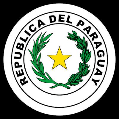 Coat of arms - Flags - Emblem - Logo Gambar Lambang, Simbol, Bendera Negara Paraguay