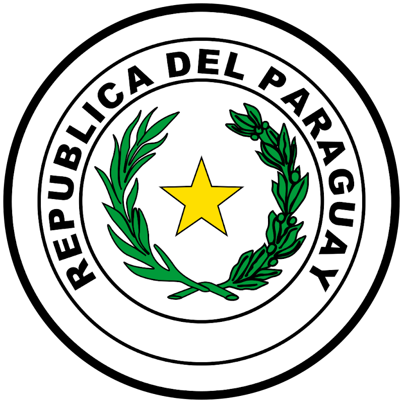 Logo Gambar Lambang Simbol Negara Paraguay PNG JPG ukuran 800 px