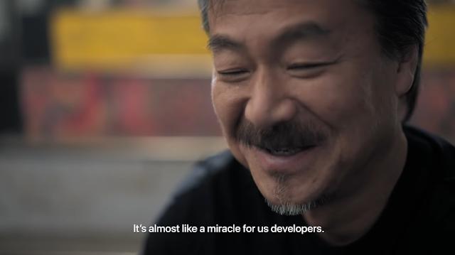 Hironobu Sakaguchi Final Fantasy Apple Arcade Fantasian