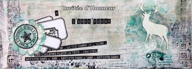 INVITEE CREATIVE CHEZ L'ANTRE SCRAP