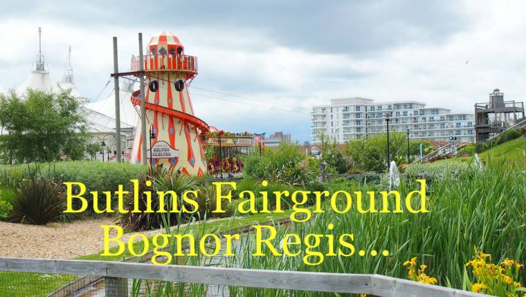 Fairground At Butlins: Bognor Regis Fairground Fun