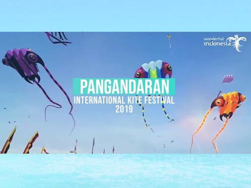 Pangandaran Internasional KITE Festival 2019