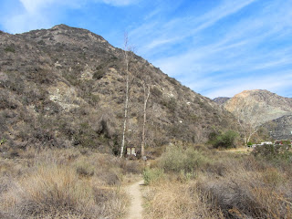 View north from the trailhead for the trail to Van Tassel Ridge