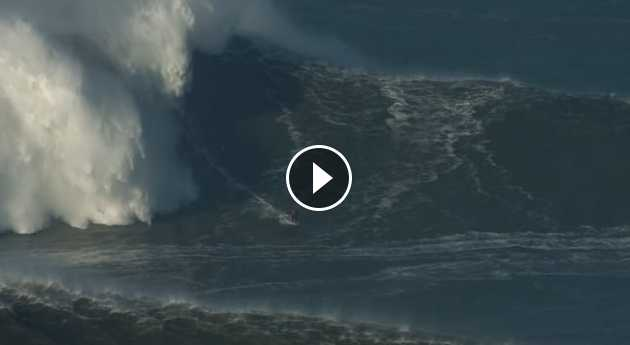 rush hour from jaws to nazare