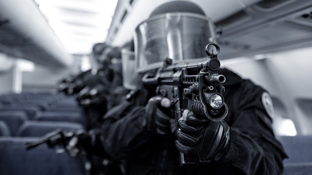 swat in airplane