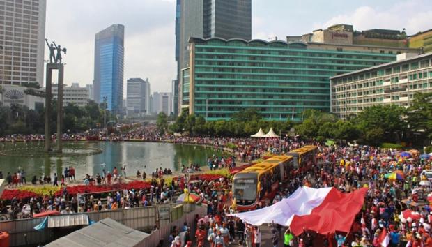 Mobilisasi Aparatur Sipil Negara di Acara Partai Politik Mirip Gaya Orde Baru