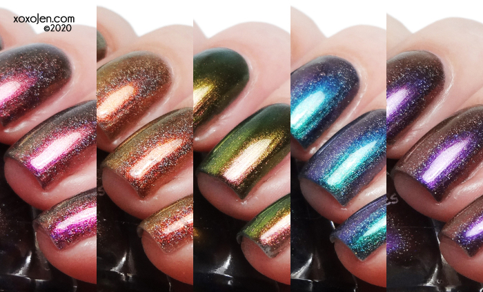xoxoJen's swatch of Turtle Tootsie Fifth Anniversary Collection