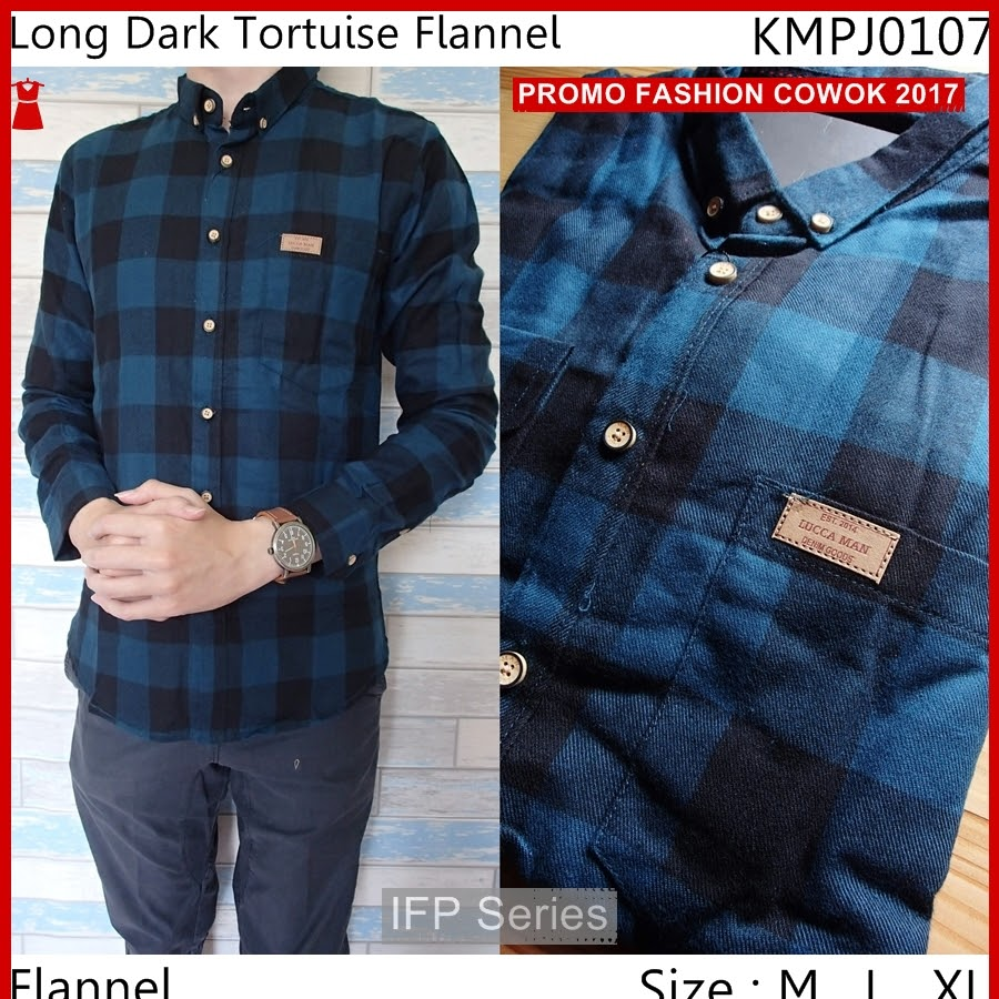 BIMFGP018 Flannel Kemeja Panjang Distro Pria PROMO