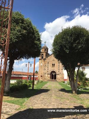 Templo de Nuestra Señora de la Natividad en Cuanajo