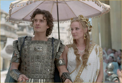 Troy 2004 movieloversreviews.filminspector.com Orlando Bloom Diane Kruger
