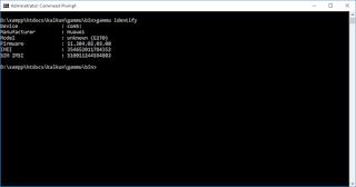 Membuat SMS Gateway dengan Gammu & Kalkun di Windows