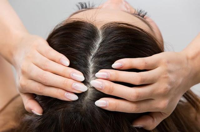 acne on the head
