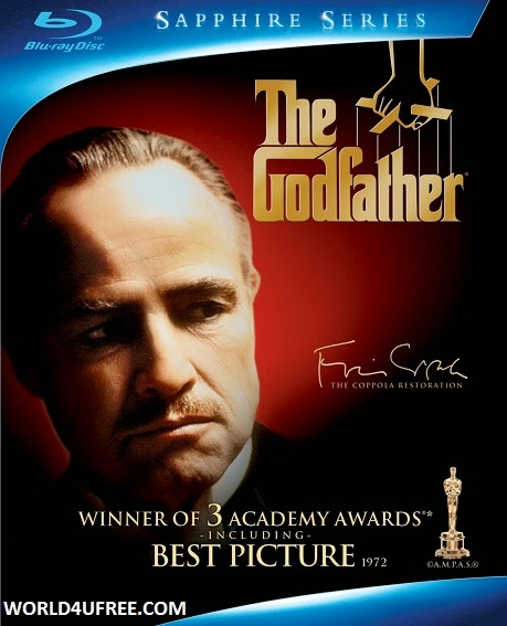 The Godfather 1972 Hindi Dubbed Dual BRRip 400MB, The godfather 1 brrip dual audio 300mb Download from World4ufree.cc