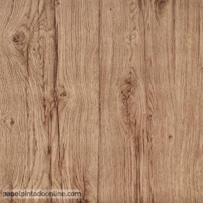 papel para paredes imitación madera roble ref. 6357-11