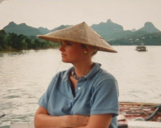 Cruising down the Li River outside of Guilin, China.