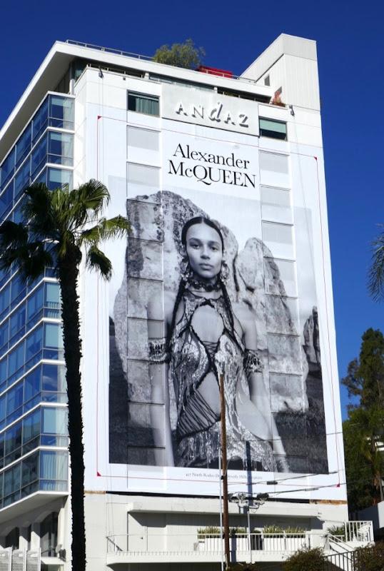 Alexander McQueen Spring 2019 billboard