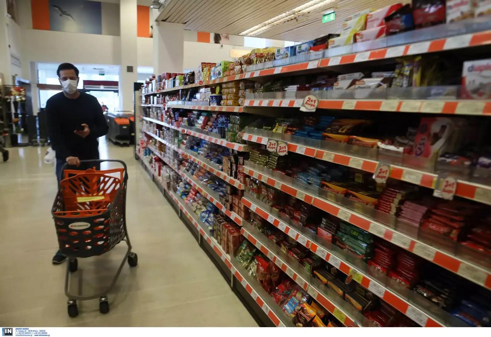 Τι θα γίνει αν υπάρξει κρούσμα κορονοϊού σε σούπερ μάρκετ, λαϊκές αγορές, φαρμακαποθήκες;