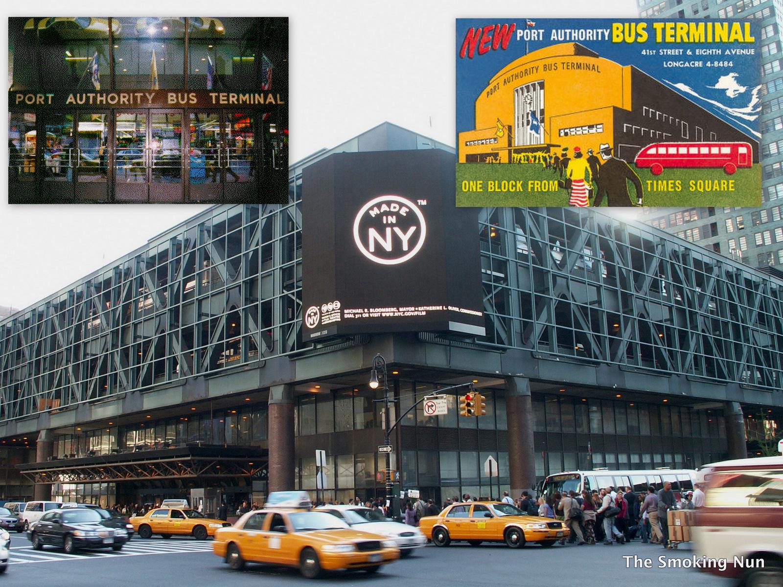 Greyhound Bus New York City Port Authority