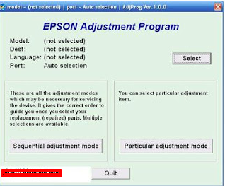 Epson L110 Resetter Download free | cot software