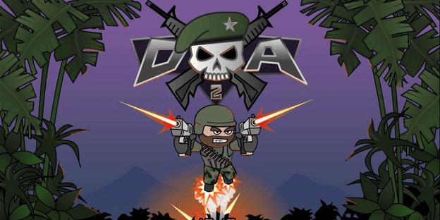 لعبة Doodle Army 2 Mini Militia مهكرة اخر اصدار للأندرويد و اَيفون/اباد