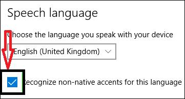 non native accents