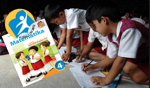 Buku PJOK dan Matematika Kelas 4 SD/MI Kurikulum 2013 Revisi Tahun 2016