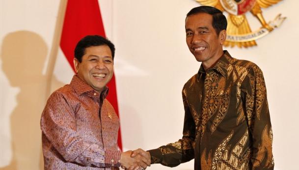Setya Novanto Terpilih Sebagai Ketum Golkar, Inilah Komentar Presiden Jokowi