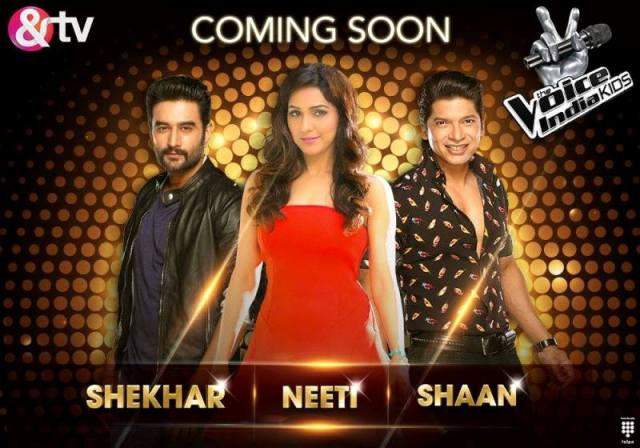The Voice India Kids  Season 1 2016 Reality Show on and TV wiki, Contestants List, judges, starting date, The Voice India Kids host, timing, promos, winner list