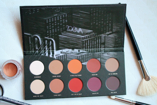 Zoeva Matte Palette Review and Swatches