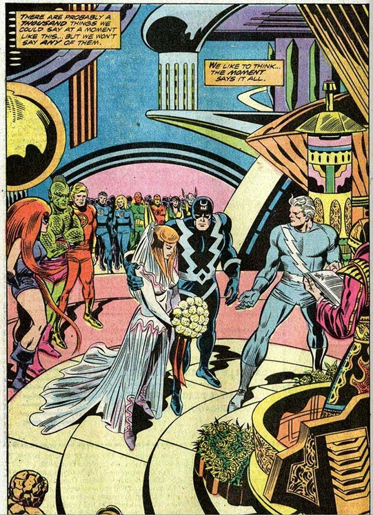 Fantastic Four 150-Buckler-GerryConway-Wedding