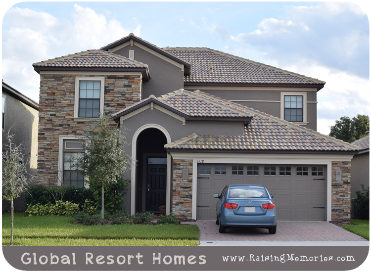 Global Resort Homes Florida Vacation Home Rental Review by www.RaisingMemories.com