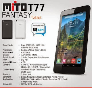 Flash Mito T77 Menggunakan SP FlashTool Via PC - Mengatasi Bootloop