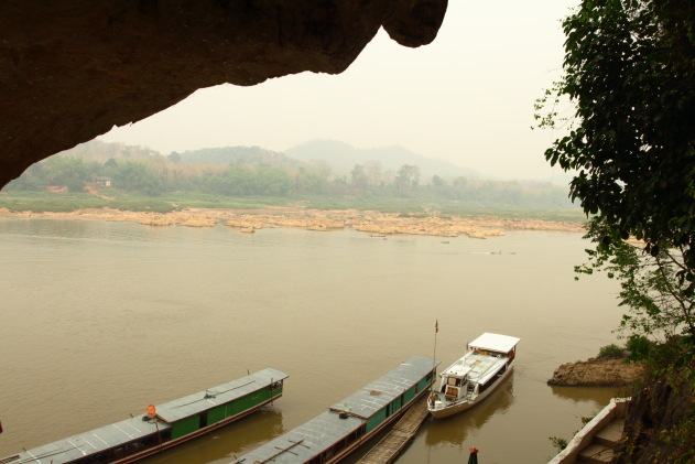 Mekong River from the Ting Cave