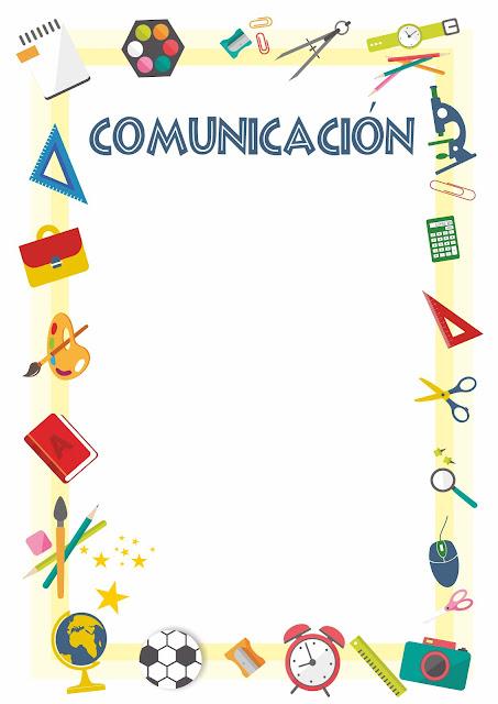 caratulas para comunicación
