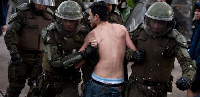 Tortura en Chile: Las prácticas del Estado en contra de los estudiantes movilizados