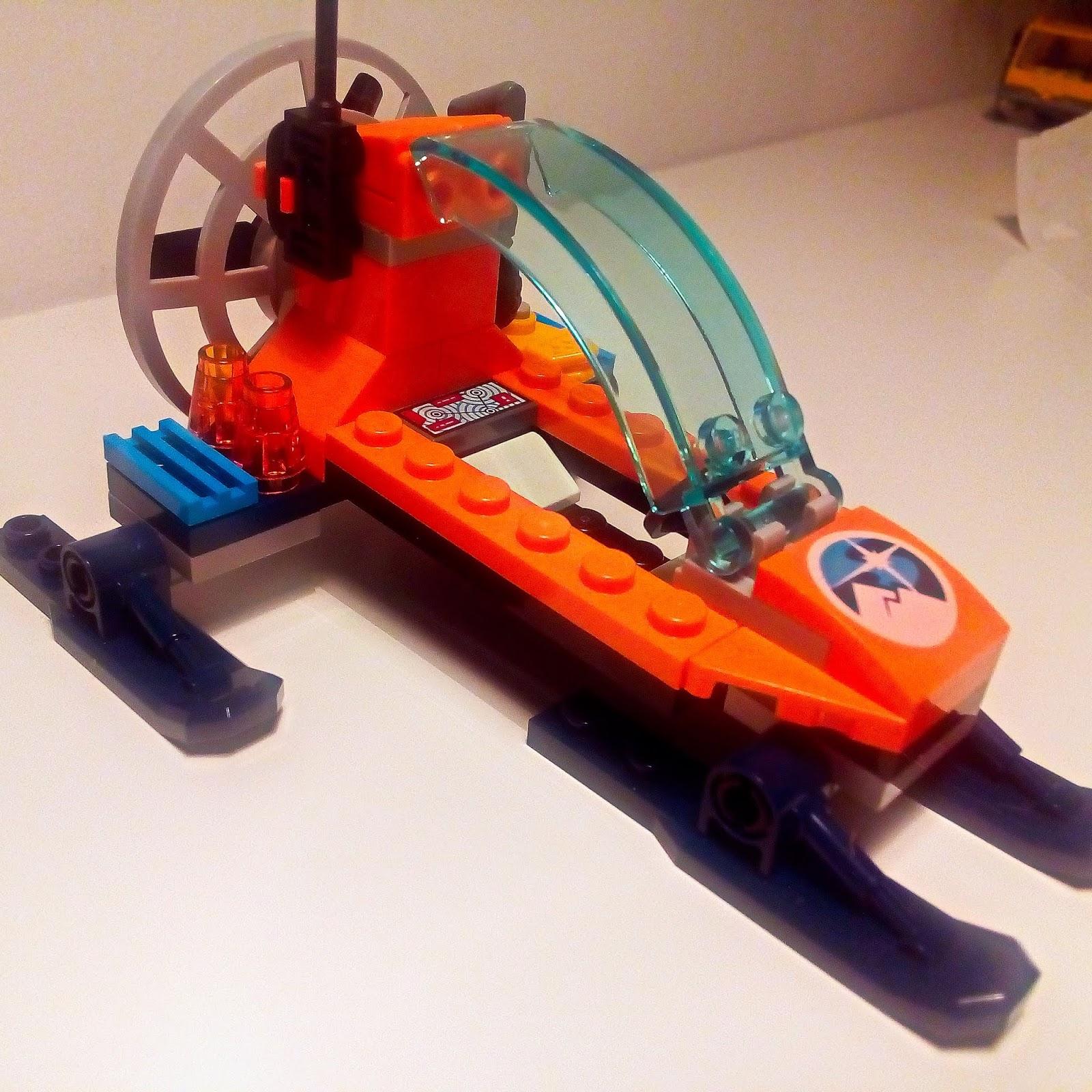 Klockowe Szaleństwo Lego City 60190 Arktyczny ślizgacz