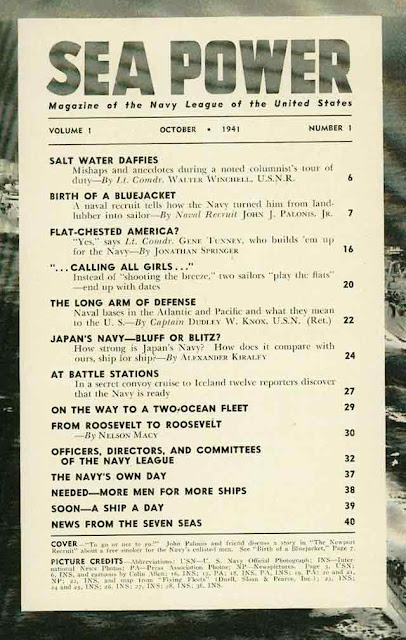 Sea Power magazine 22 October 1941 worldwartwo.filminspector.com