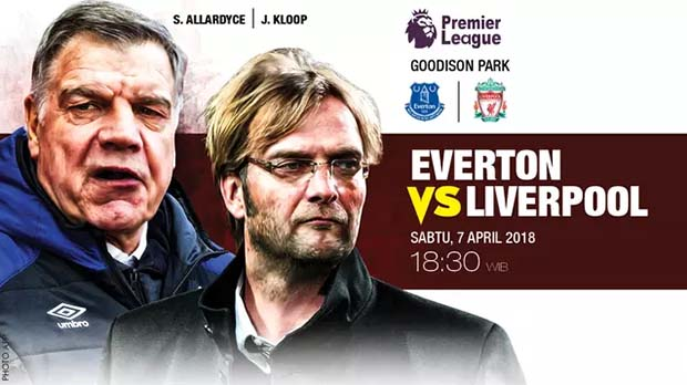 Formasi pemain everton vs liverpool